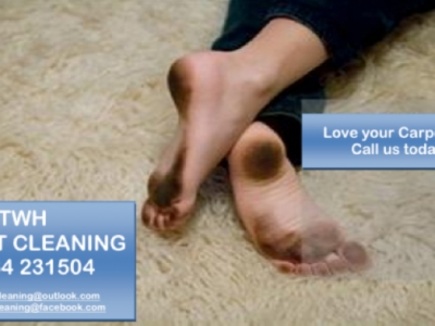We at TWH CARPET CLEANING can take care of all your Carpets and Upholstery and give them a new lease of life